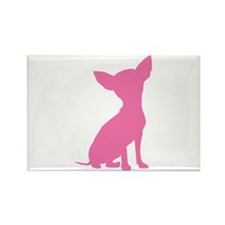 Pink Chihuahua - Rectangle Magnet (100 pack)