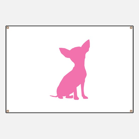 Pink Chihuahua - Banner