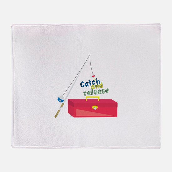 Catch And Release Throw Blanket