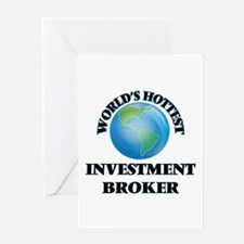 World's Hottest Investment Broker Greeting Cards