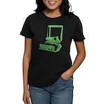Retro Record Player Women's Dark T-Shirt