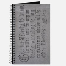 Milton liberty quote journal