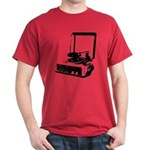 Retro Record Player Dark T-Shirt