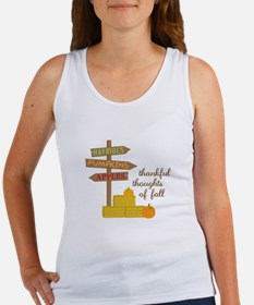 Thankful Thoughts Tank Top