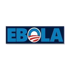 Obama Ebola Car Magnet 10 x 3