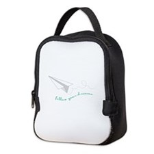 Follow Your Dreams Neoprene Lunch Bag