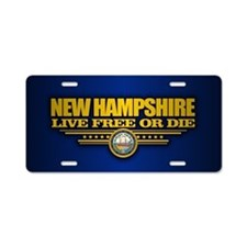 New Hampshire (v15) Aluminum License Plate