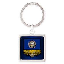 New Hampshire (v15) Keychains