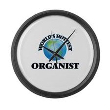 World's Hottest Organist Large Wall Clock
