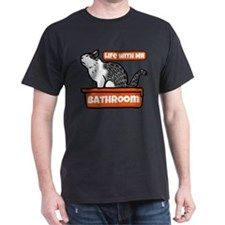 """Bathroom"" T-Shirt"