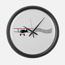 Marry Sky Sign Large Wall Clock