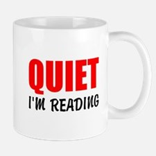 Quiet Im Reading Mugs