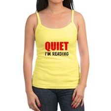 Quiet Im Reading Tank Top