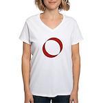 Slaave 0 Women's V-Neck T-Shirt