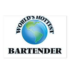 World's Hottest Bartender Postcards (Package of 8)