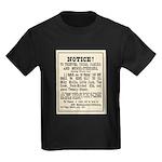 Las Vegas Vigilantes Kids Dark T-Shirt
