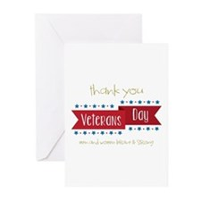 Thank You Veterans Greeting Cards