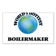 World's Hottest Boilermaker Decal