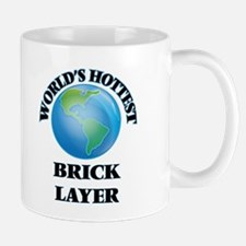 World's Hottest Brick Layer Mugs