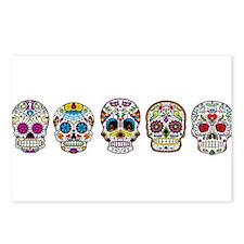 Skulls By Design Postcards (Package of 8)