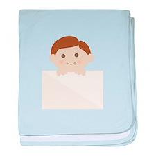 Chubby Cheeks baby blanket