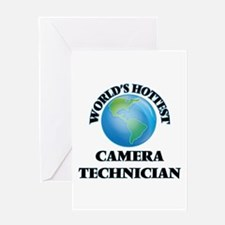 World's Hottest Camera Technician Greeting Cards