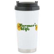 Cute Farmers wife Travel Mug