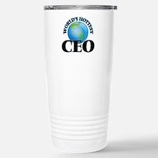 World's Hottest Ceo Travel Mug