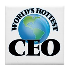 World's Hottest Ceo Tile Coaster