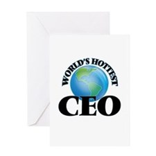 World's Hottest Ceo Greeting Cards
