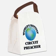 World's Hottest Circuit Preacher Canvas Lunch Bag