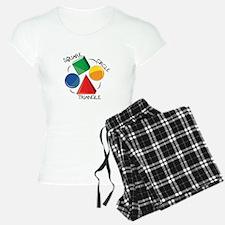 Square Circle Triangle Pajamas