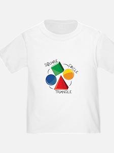 Square Circle Triangle T-Shirt