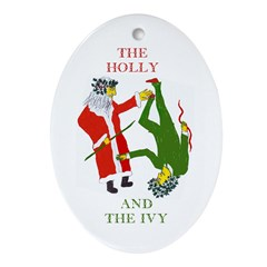 The Holly and the Ivy Tree Ornament