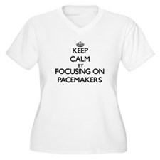 Keep Calm by focusing on Pacemak Plus Size T-Shirt