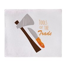 Tools Of The Trade Throw Blanket