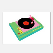 Record Player Postcards (Package of 8)
