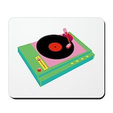 Record Player Mousepad