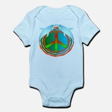 Dolphin Peace Infant Bodysuit