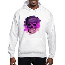 Purple Skull Hoodie