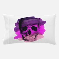 Purple Skull Pillow Case