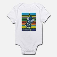 Chihuahua on Serape Infant Bodysuit