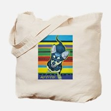 Chihuahua on Serape Tote Bag