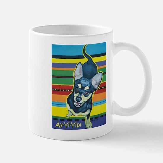 Chihuahua on Serape Mug