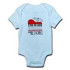 Tickle The Ivories Body Suit