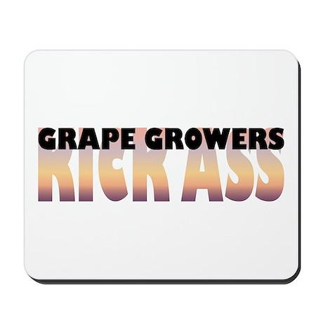 Grape Growers Kick Ass Mousepad