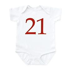 Unconquerable 21 Infant Bodysuit