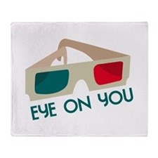 Eye On You Throw Blanket