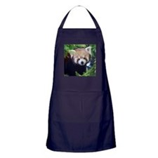 Red Panda Apron (dark)