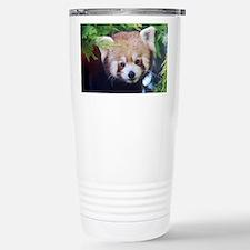 Red Panda Stainless Steel Travel Mug
